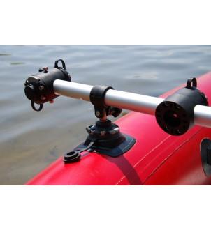 RI032-2 Clemă cu adaptor țeavă Ø 32 mm, 2 buc